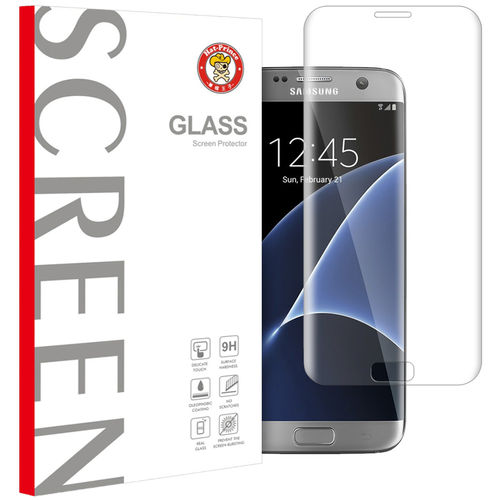 3D Tempered Glass Screen Protector for Samsung Galaxy S7 Edge - Clear